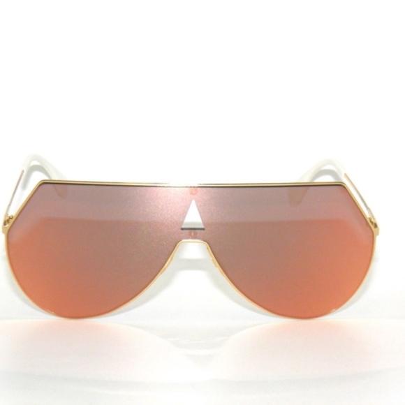 15d37a3c48 Fendi Eyeline 0193 S 000 0J Rose Gold Sunglasses